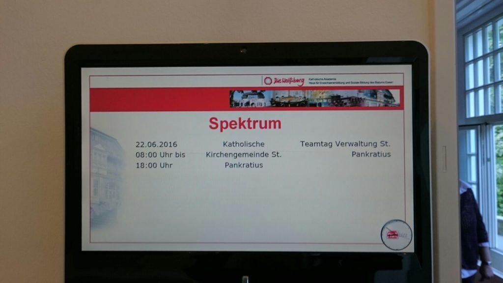 Das Team tagte in der Wolfsburg in Mülheim
